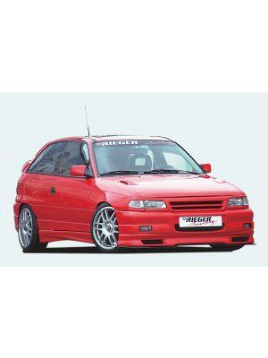 Rieger grill | Astra F - Cabrio, Sedan, Hatchback, Caravan, Hatchback | stuk ongespoten abs | Rieger Tuning