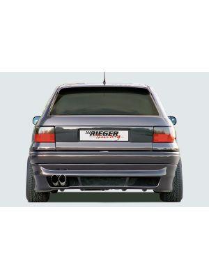 Rieger achteraanzetstuk | Astra F: 09.91-12.99 - 3-drs., Hatchback | stuk ongespoten abs | Rieger Tuning
