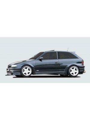 Side skirt | Opel Astra F 3-deurs 1991-1998 | stuk ongespoten abs | Rieger Tuning