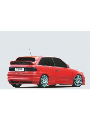Rieger achterbumper RT08 | Astra F: 09.91 - 3-drs., 5-drs., Hatchback | stuk ongespoten abs | Rieger Tuning