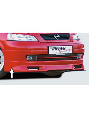 Rieger frontspoiler | Astra G - 3-drs., 5-drs., Sedan, Hatchback, Stationwagon | stuk ongespoten abs | Rieger Tuning