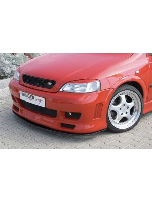 Voorbumper | Opel Astra G 1998-2004 | stuk ongespoten abs | Rieger Tuning