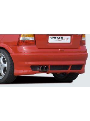 Rieger achteraanzetstuk | Astra G - 3-drs., 5-drs., Hatchback | stuk ongespoten abs | Rieger Tuning