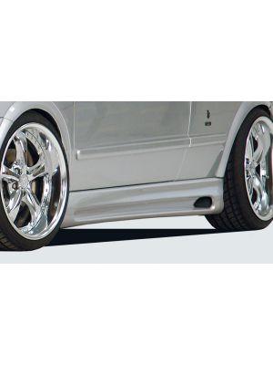 Side skirt | Opel Astra G 3-deurs 1998-2004 | stuk abs | Rieger Tuning