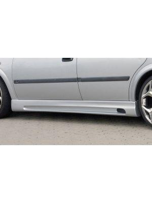 Side skirt | Opel Astra G 5-deurs 1998-2004 | stuk abs | Rieger Tuning