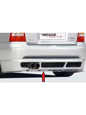 Rieger achterspoiler zwaard | Astra G - 3-drs., Coupé, Cabrio | stuk ongespoten abs | Rieger Tuning