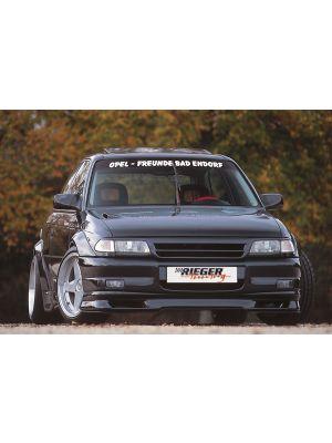 Rieger voorbumper breedbouw I | Astra F: 09.91-12.99 - 3-drs., 5-drs., Hatchback, Sedan | stuk ongespoten abs | Rieger Tuning