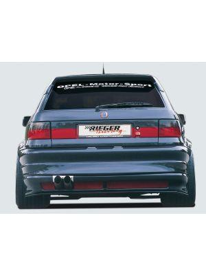 Rieger achterbumper breedbouw I | Astra F: 09.91-12.99 - Hatchback, 3-drs. | stuk ongespoten abs | Rieger Tuning