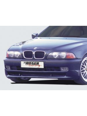 Rieger frontspoiler | 5-Serie E39: 12.95-12.02 - Lim., Touring | stuk ongespoten abs | Rieger Tuning