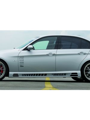 Side skirt | BMW 3-Serie Sedan E90 / Touring E91 2005-2012 | stuk abs | Rieger Tuning