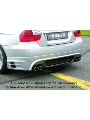 Achteraanzetstuk | BMW 3-Serie Sedan E90 / Touring E91 2005-2012 | stuk abs | Rieger Tuning