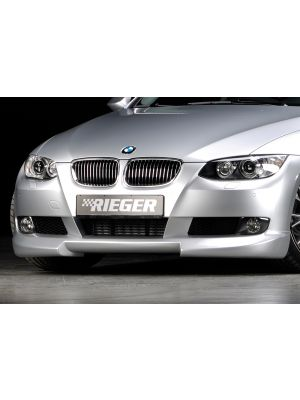 Rieger frontspoiler | 3-Serie E92: 09.06-02.10 (tot Facelift) - Coupé  3-Serie E93: 03.07-02.10 (tot Facelift) - Cabrio | stuk ongespoten abs | Rieger Tuning