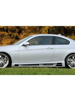 Side skirt | BMW 3-Serie Cabrio E93 / Coupé E92 2007-2013 | stuk abs | Rieger Tuning