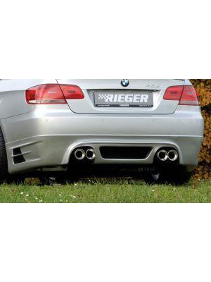 Achteraanzetstuk | BMW 3-Serie Cabrio E93 / Coupé E92 2007-2010 | stuk abs | Rieger Tuning