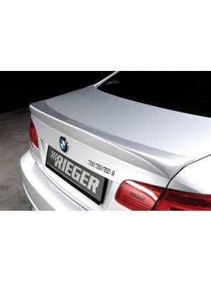 Rieger achterklepspoiler | 3-Serie E92: 09.06-02.10 (tot Facelift), 03.10- (vanaf Facelift) LCI - Coupé | stuk ongespoten pu-rim | Rieger Tuning
