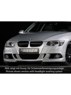 Voorbumper | BMW 3-Serie Cabrio E93 / Coupé E92 2010-2013 | stuk ongespoten abs | Rieger Tuning