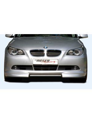 Rieger frontspoiler | 5-Serie E60: -08 (tot Facelift) - Lim.  5-Serie E61: -08 (tot Facelift) - Touring | stuk ongespoten abs | Rieger Tuning