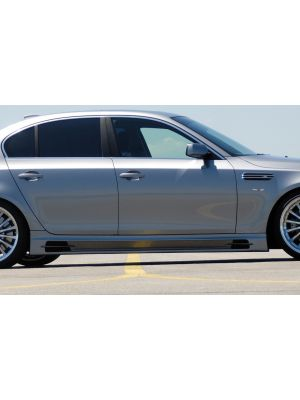 Side skirt | BMW 5-Serie Sedan E60 / Touring E61 2003-2010 | stuk ongespoten abs | Rieger Tuning