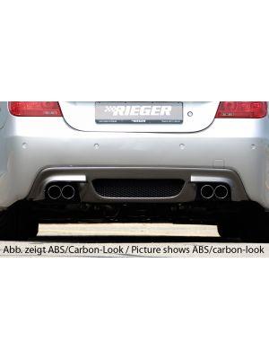 Diffuser | BMW 5-Serie Sedan E60 / Touring E61 2003-2010 | stuk abs | Rieger Tuning