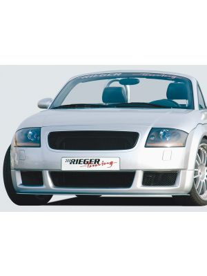 Rieger frontspoiler RS-Four-Look | TT (8N): 98-03 - Coupé, Roadster | stuk ongespoten abs | Rieger Tuning