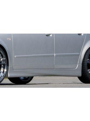Side skirt | Audi A4 Sedan / Avant (8E) B6 + B7 2001-2008 | stuk abs | Rieger Tuning