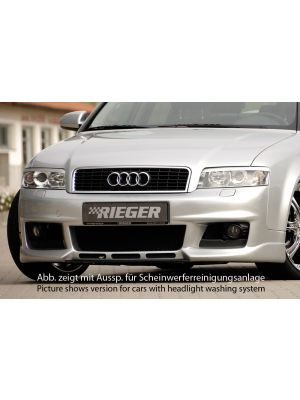 Voorbumper   Audi A4 Sedan / Avant (8E) B6 2001-2004   stuk abs   Rieger Tuning