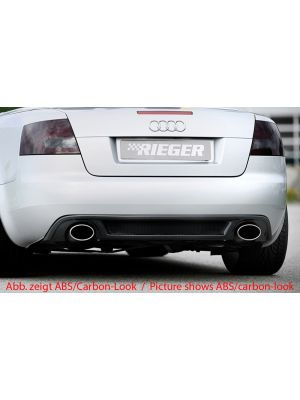 Diffuser | Audi A4 (8H) Cabrio |  abs | Rieger Tuning