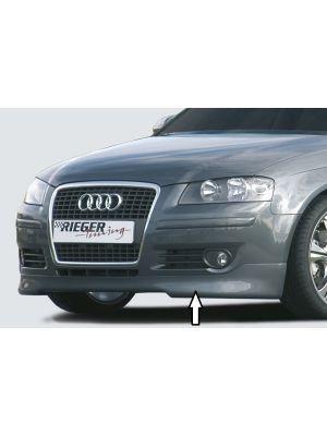 Rieger spoilerlip | Audi A3 8P 2005-2008 3D / 2004-2008 Sportback | ABS