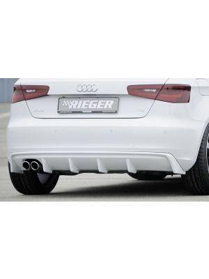 Diffuser | Audi A3 8V 2013-2016 3D/5D | stuk abs | Rieger Tuning