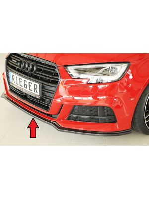 Spoilerzwaard | Audi A3 S-Line / S3 2016- | Sedan / Cabrio | abs | Rieger Tuning