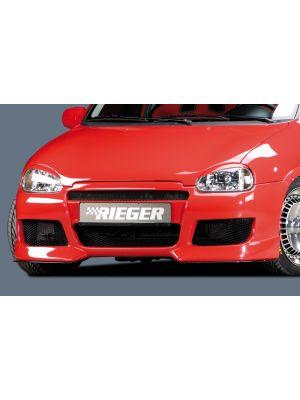Rieger voorbumper | Corsa B: 02.93-09.96 (tot model 97), 11.96- (vanaf model 97) - 3-drs., 5-drs. | stuk ongespoten abs | Rieger Tuning