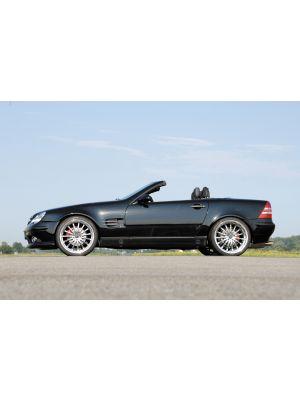 Spatbord | Mercedes SLK-Klasse (R170) 1997-2004 | SL - Look | stuk ongespoten gvk | Rieger Tuning