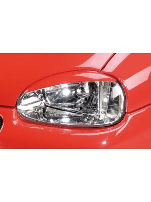 Kamei koplampspoilers | Corsa B: 02.93-09.96 (tot model 97), 11.96- (vanaf model 97) - 3-drs., 5-drs. | set ongespoten abs | Rieger Tuning