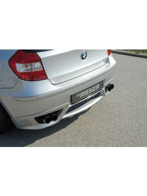 Rieger einddemper li/re Type 16 BMW 1-serie E87 | 1er E87 (187 / 1K2/1K4) - 4-drs.- Diesel | stuk rvs | Rieger Tuning