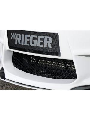 Racegaas, Aluminium zwart 100x20cm |  | stuk aluminium | Rieger Tuning