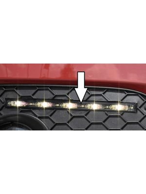LED Dagrijlichten Slim-Line smoke