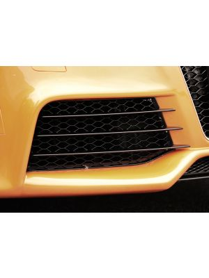 Luchtrooster, rechts | TT (8J): 09.06- - Coupé, Roadster | r stuk glanzend abs | Rieger Tuning