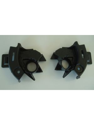 PDC-houder set, links/rechts, zwart | A5 (B8/B81): 10.11- (vanaf Facelift) - Coupé, Cabrio, Sportback  A5 S5 (B8/B81): 10.11- (vanaf Facelift) - Coupé, Cabrio, Sportback  RS5 (B8): 01.12- (vanaf Facelift) - Coupe | set  | Rieger Tuning