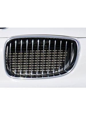 Nieren (facelift) | 1er E82, E88 (182 / 1C): 10.07- - Coupé, Cabrio 1er E81 (187/1K2/1K4): 2-drs., Lim.1er E87 (187 / 1K2/1K4): 4-drs., Lim. | Rieger Tuning
