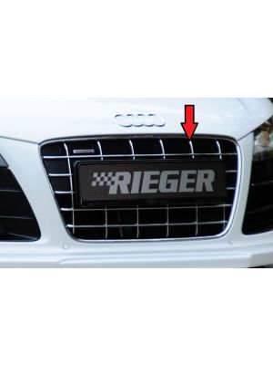 orig. Audi R8 Grill V10 zwart/chroom   R8 (42): 04.07- - Coupe, Spyder   stuk    Rieger Tuning