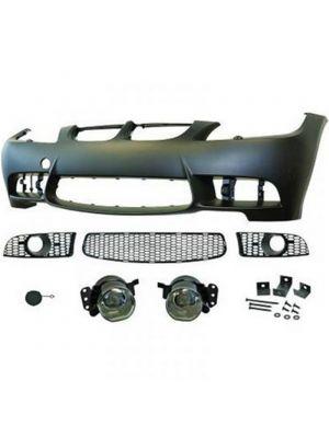 Voorbumper | BMW 3-serie  E90/91 2005-2008| M3-Look | met koplampsproeiers