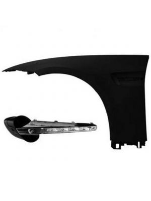 Spatbord Links | M3 - Look | BMW 3 serie coupe E92 , cabriolet E93 2010-2013 | met luchthapper / Air Vent en LED knipperlicht