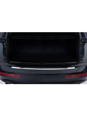 Achterbumperbeschermer | Audi Q7 2006-2009, 2009-2015 | RVS geprofileerd