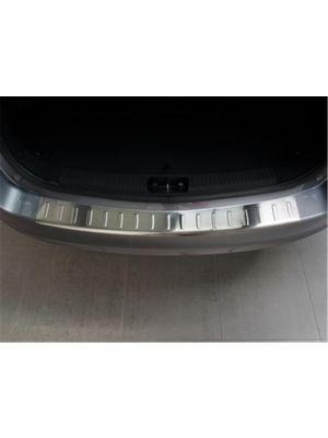 Achterbumperbeschermer | Hyundai i30 2012- RVS profielen/ribbed