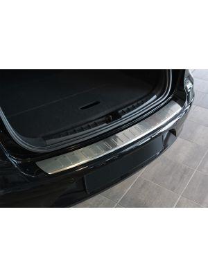 Achterbumperbeschermer | Seat Altea XL 2006- RVS ribbed