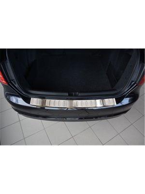Achterbumperbeschermer | Volkswagen Jetta A6 2010-2014- RVS geprofileerd