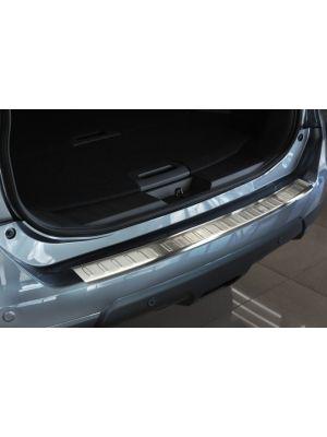 Achterbumperbeschermer   Nissan X-TRIAL III 2013-   RVS   geprofileerd