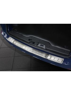 Achterbumperbeschermer | Dacia | Dokker 13- 5d mpv. | RVS rvs zilver