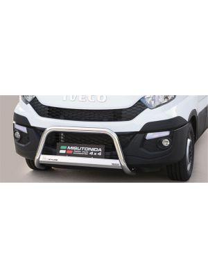 Pushbar | Iveco | Daily 2014-2020 4d bes. | pre-facelift | RVS CE-keur