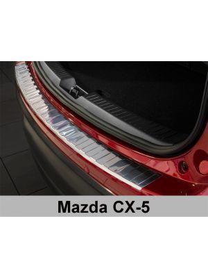 Achterbumperbeschermer | Mazda CX-5 2012-2016 | RVS